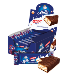 Milla Crispy Bars | 25 pc.